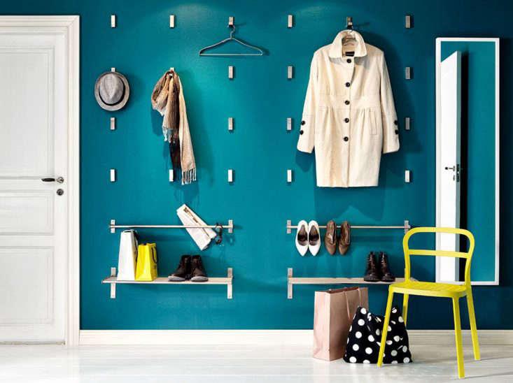 Ikea Bjarnum Folding Hooks in Situ