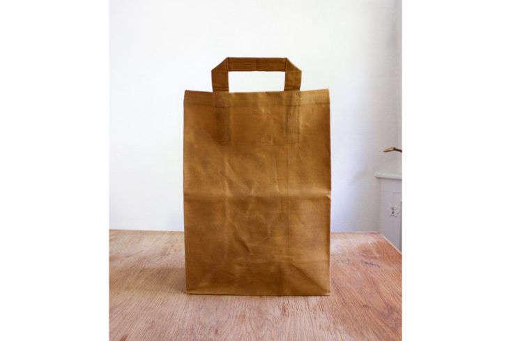 ItalicHome Waxed Reusable Canvas Shopping Bag
