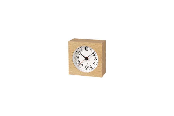 Muji Beech Alarm Clock