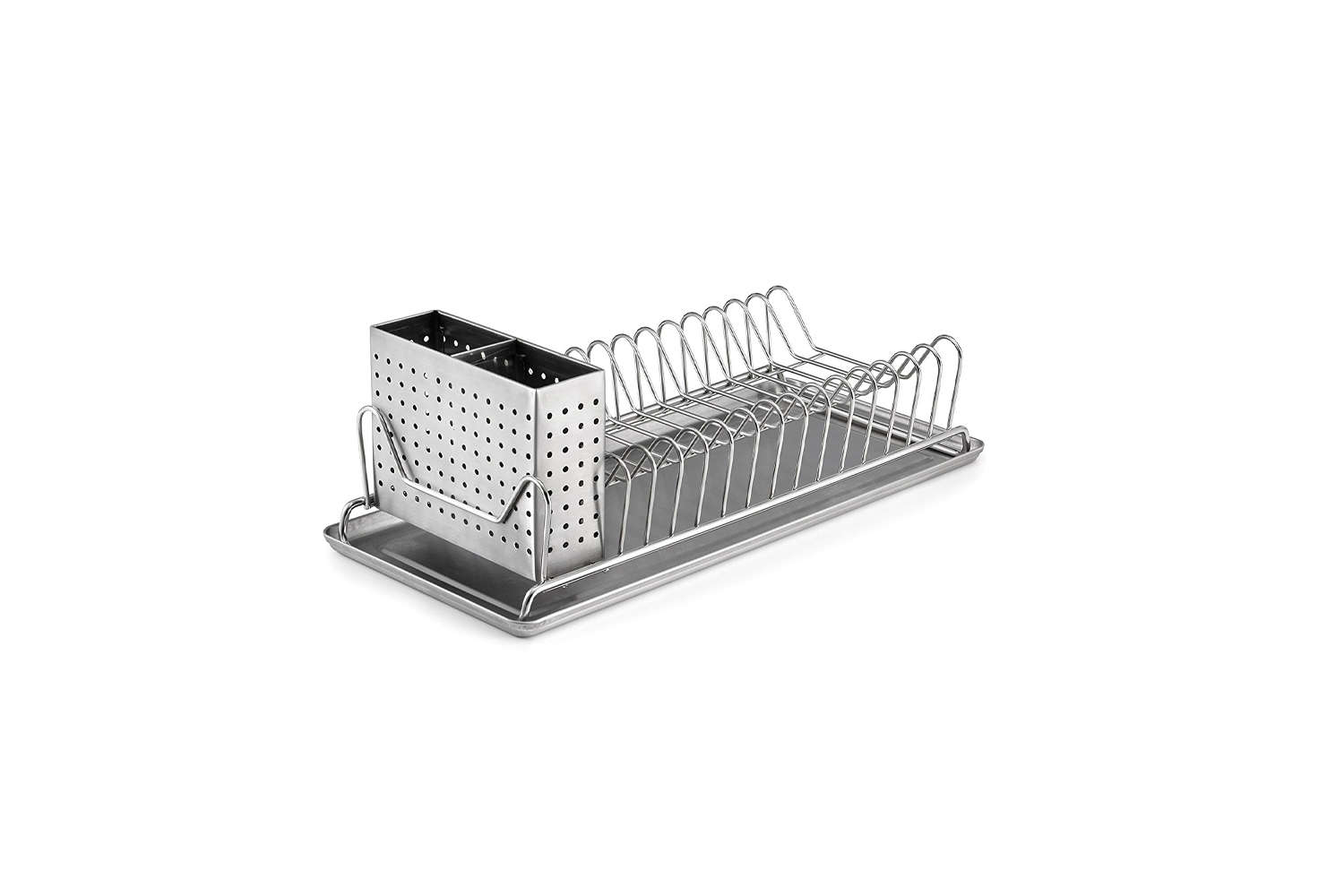 Polder Compact Stainless Steel Dish Rack
