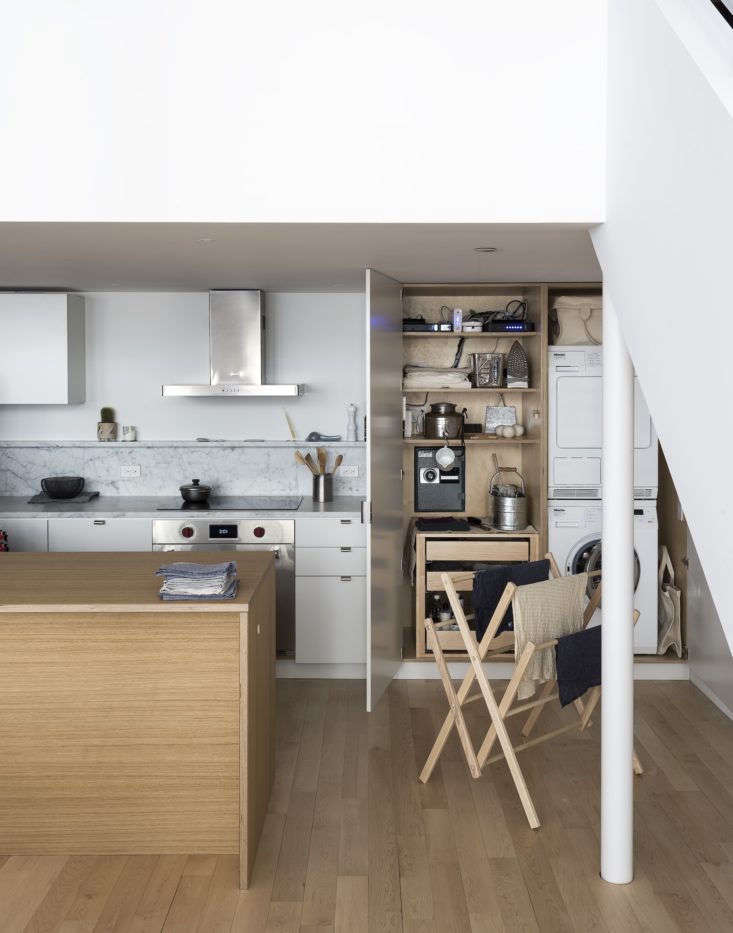 Solveig Fernlund Laundry Closet by Matthew Williams, Styled by Alexa Hotz for Organized Home