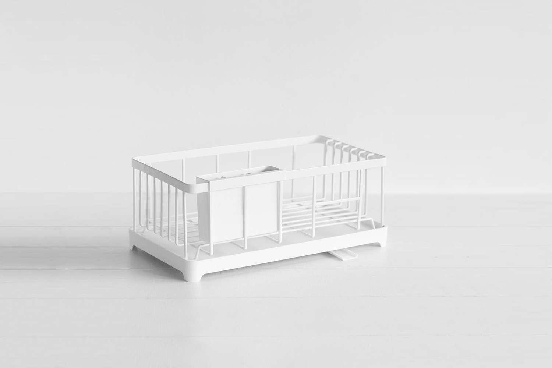 Yamazaki Tower Sink Drainer Wire Basket White