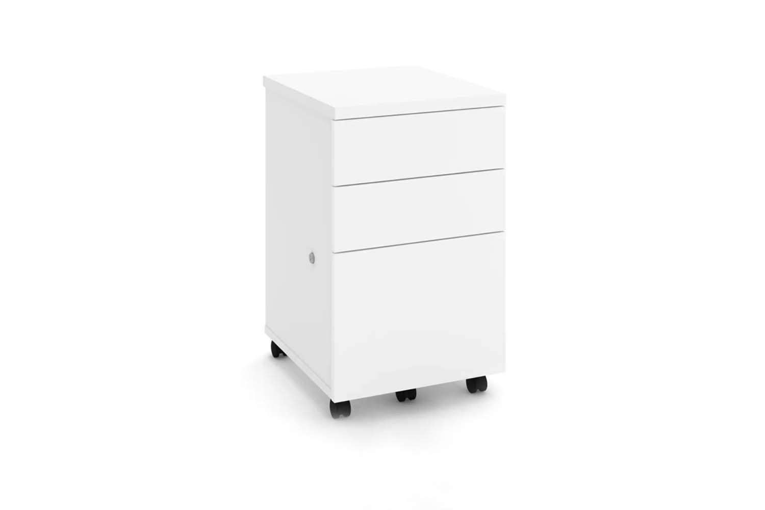 All Modern 3 Drawer Mobile Vertical Filing Cabinet