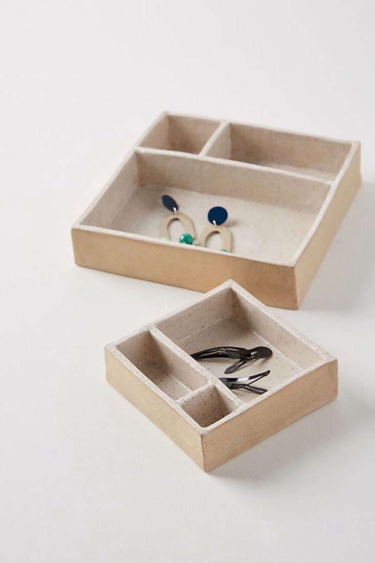 Anthropologie Golden Ratio Jewelry Box