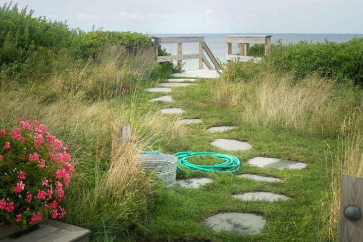 cape cod coastal garden truro wash basin
