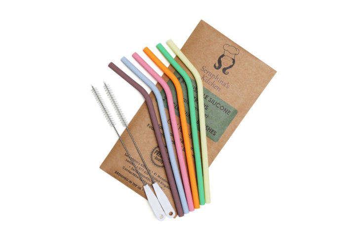 Seraphina's Kitchen Silicone Straws