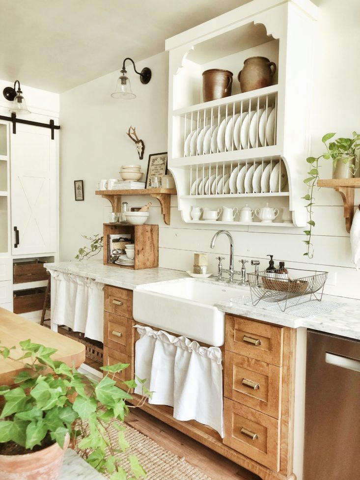 A Closer Look At Whitetail Farmhouse This Year S Best Kitchen Organization Project The Organized Home