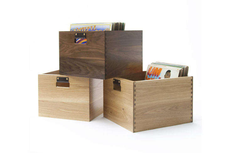 Dovetail Record Crate