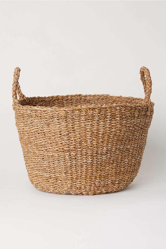 H&M Home Braided Storage Basket
