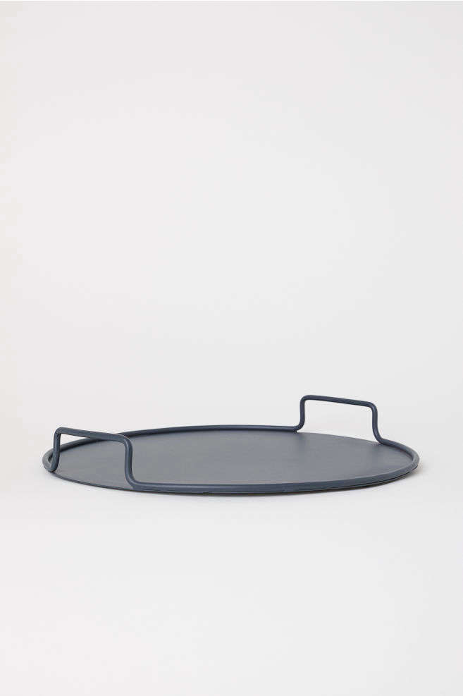 H&M Home Round Metal Tray