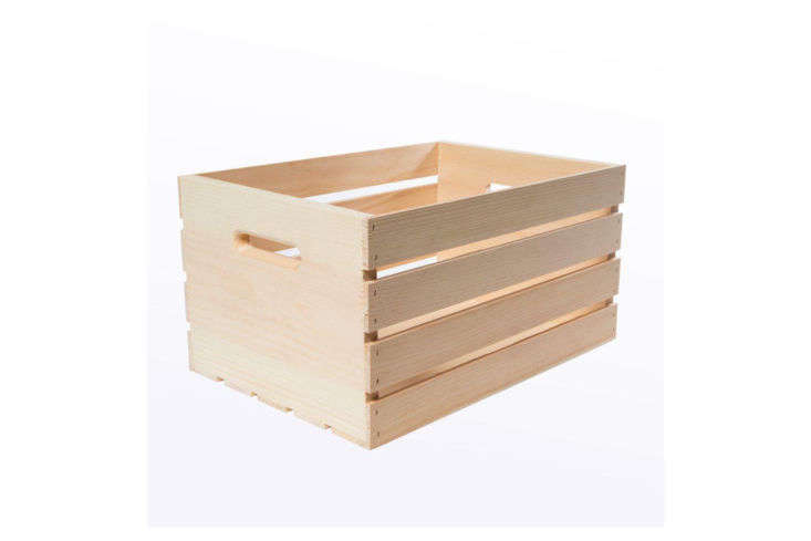 Home Depot Wood Crate