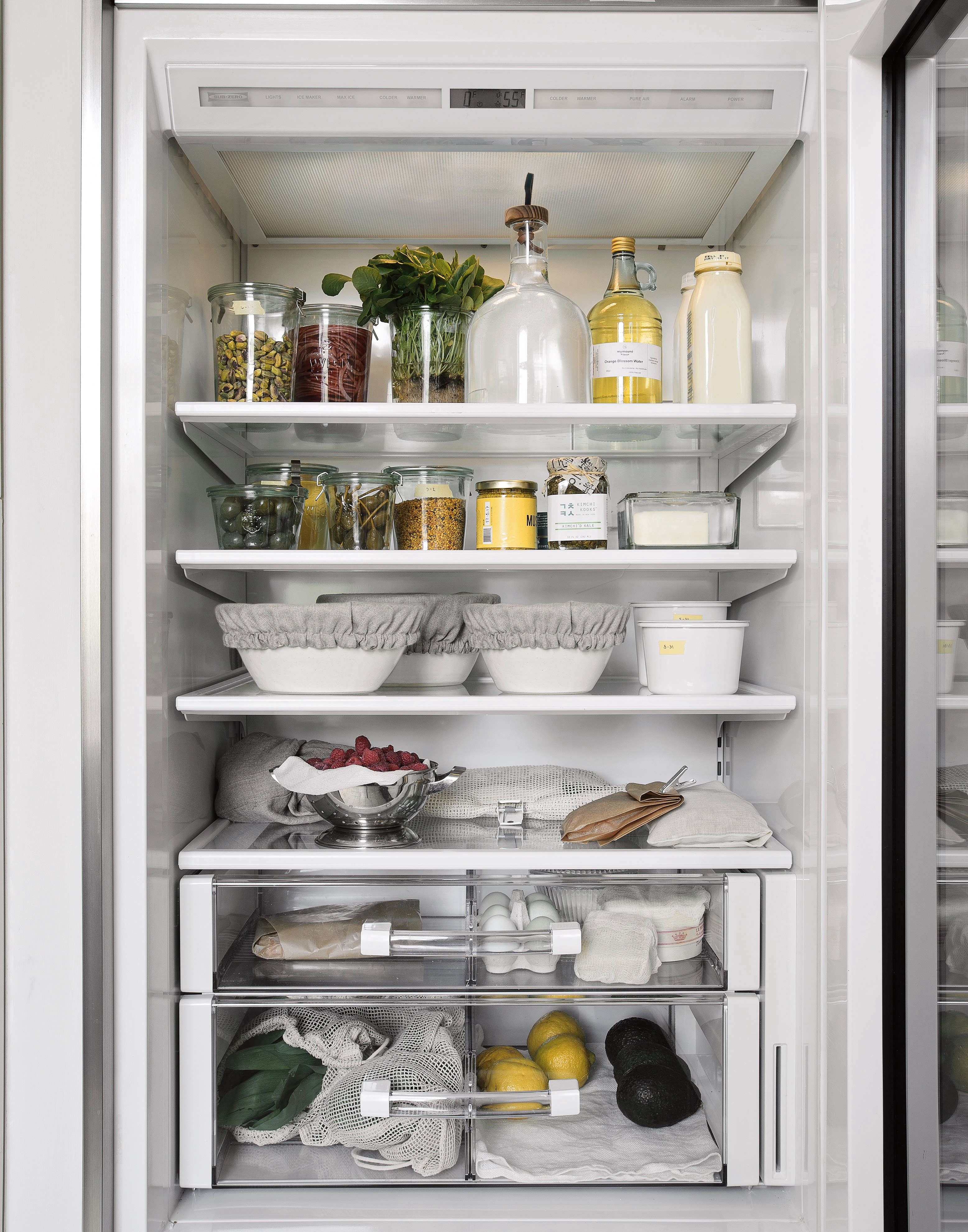 Refrigerator Interior from Organized Home Book, Image by Matthew Williams
