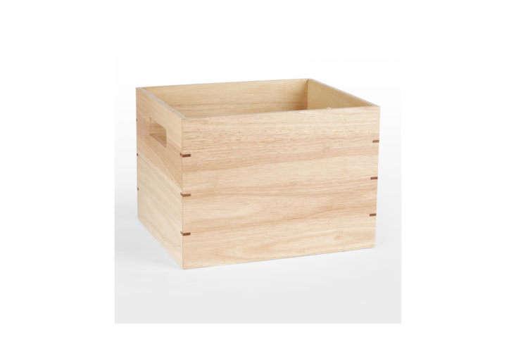 Rejuvenation Wood Storage Bin