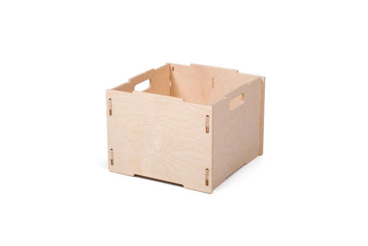 Sprout Stackable Wooden Crate Storage
