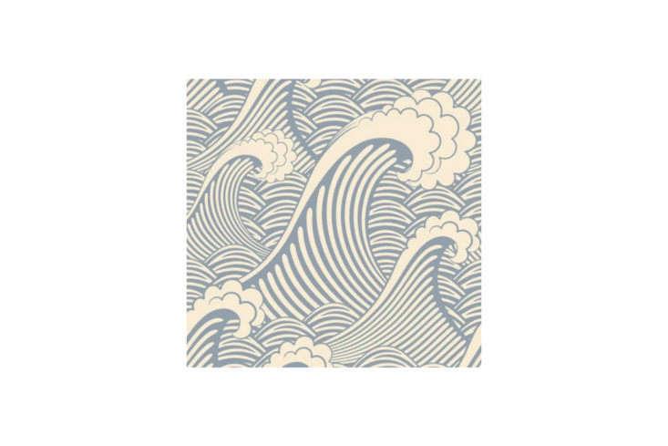 Waves Chic Wallpaper AllModern