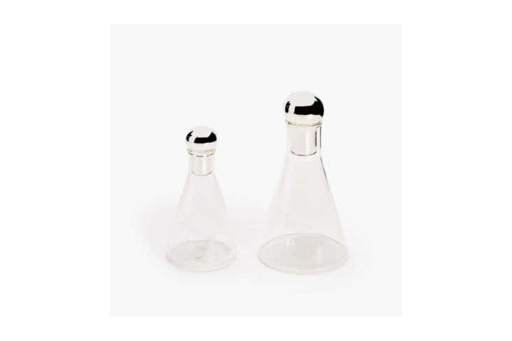 Zara Home Glass Bottle with Ball Stopper