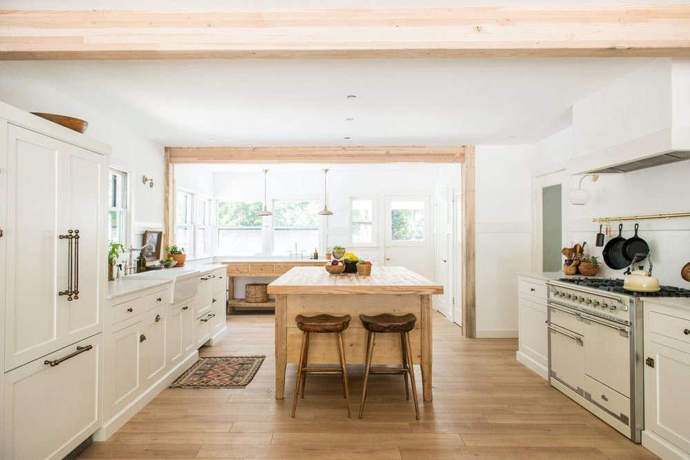 White Wood Homeschool Kitchen Jodi Mockabee Full Kitchen