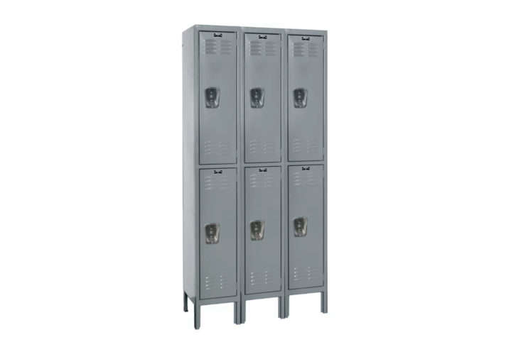 Hallowell Premium 2 Tier 3 Wide School Locker
