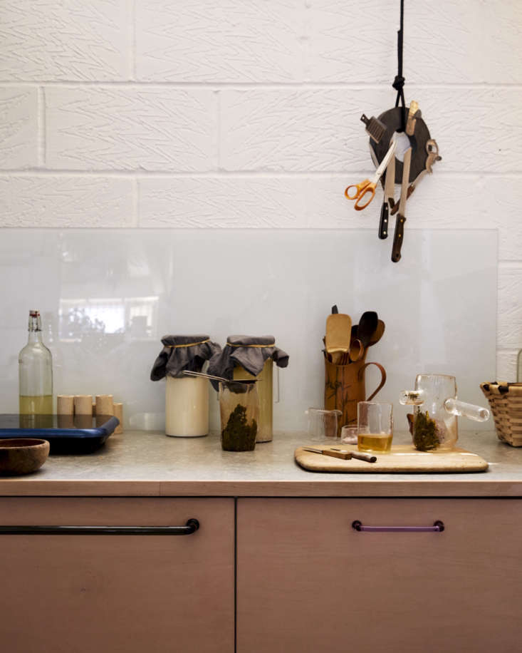 Jochen Holz Studio Kitchen Counter, Photo by Kim Lightbody