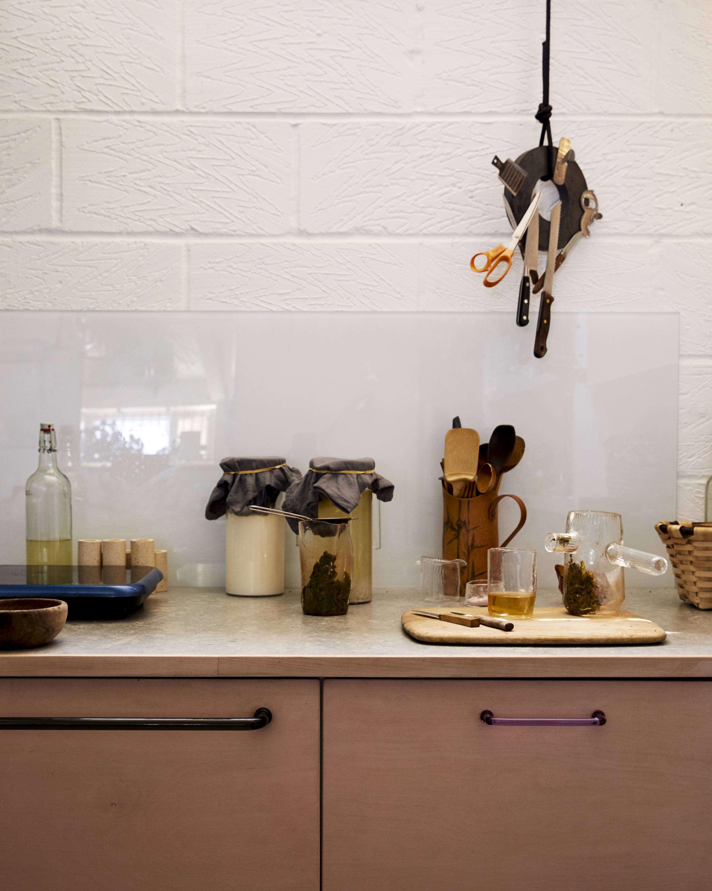 Jochen Holz Studio Kitchen Counter, Photo by Kim Lightbody