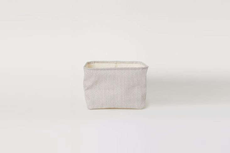 Cotton Twill Storage Basket from H&M Home