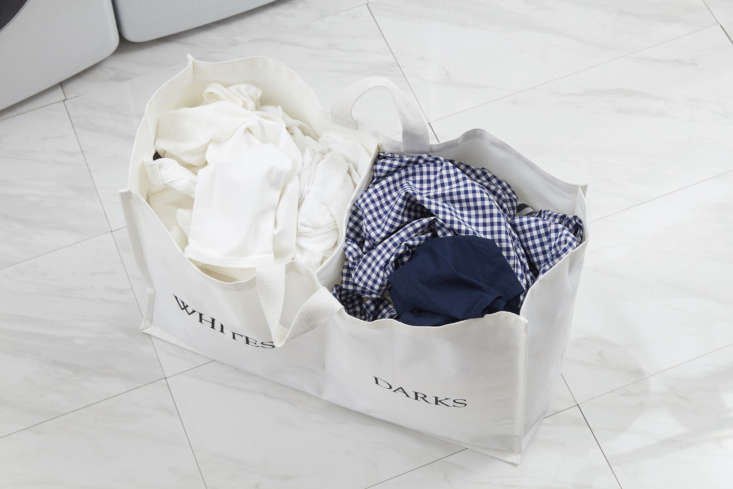 Laundress New Clothing Storage Compartment Hamper Aerial