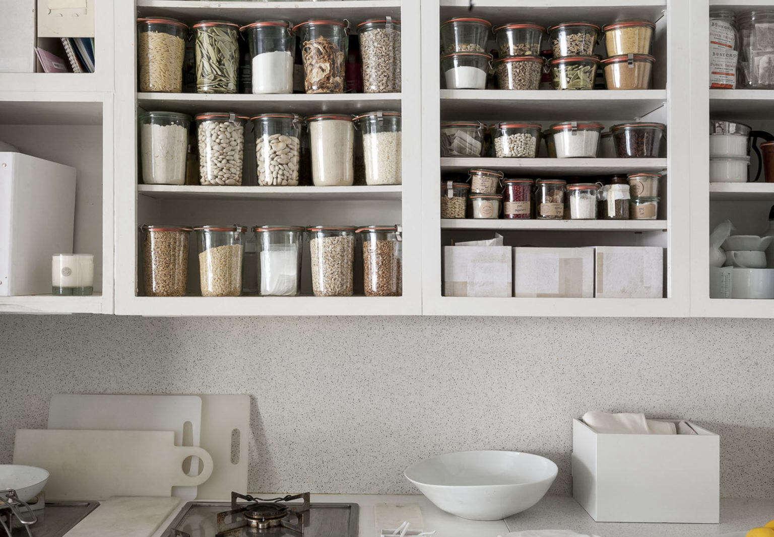 Michaela Scherrer's Kitchen Cabinets in Pasadena, CA, Photo by Matthew Williams for Remodelista