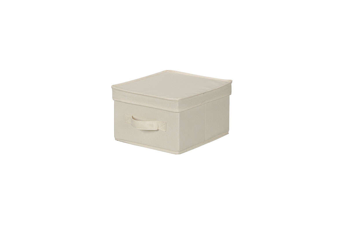 Household Essentials Canvas Cube Storage Box from Target