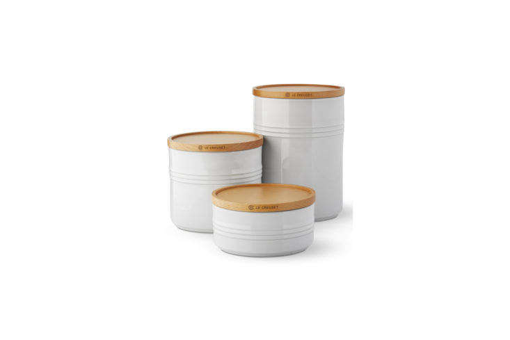 Williams Sonoma Le Creuset Canisters