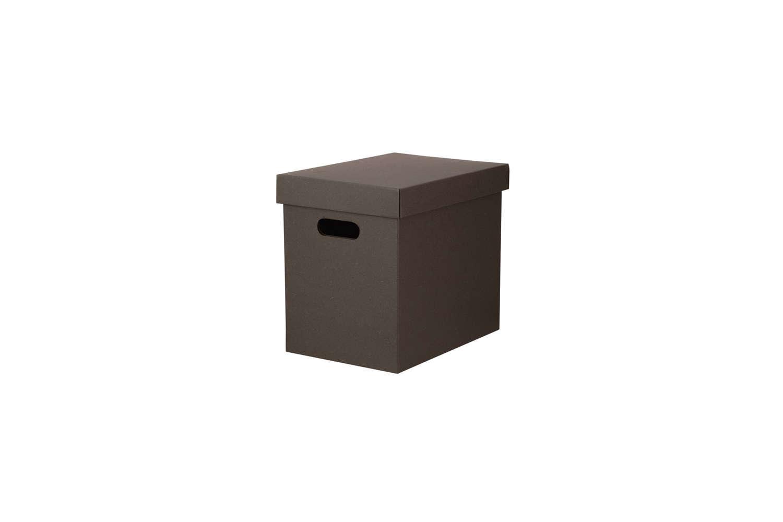 Cardboard Document Storage Boxes Brown
