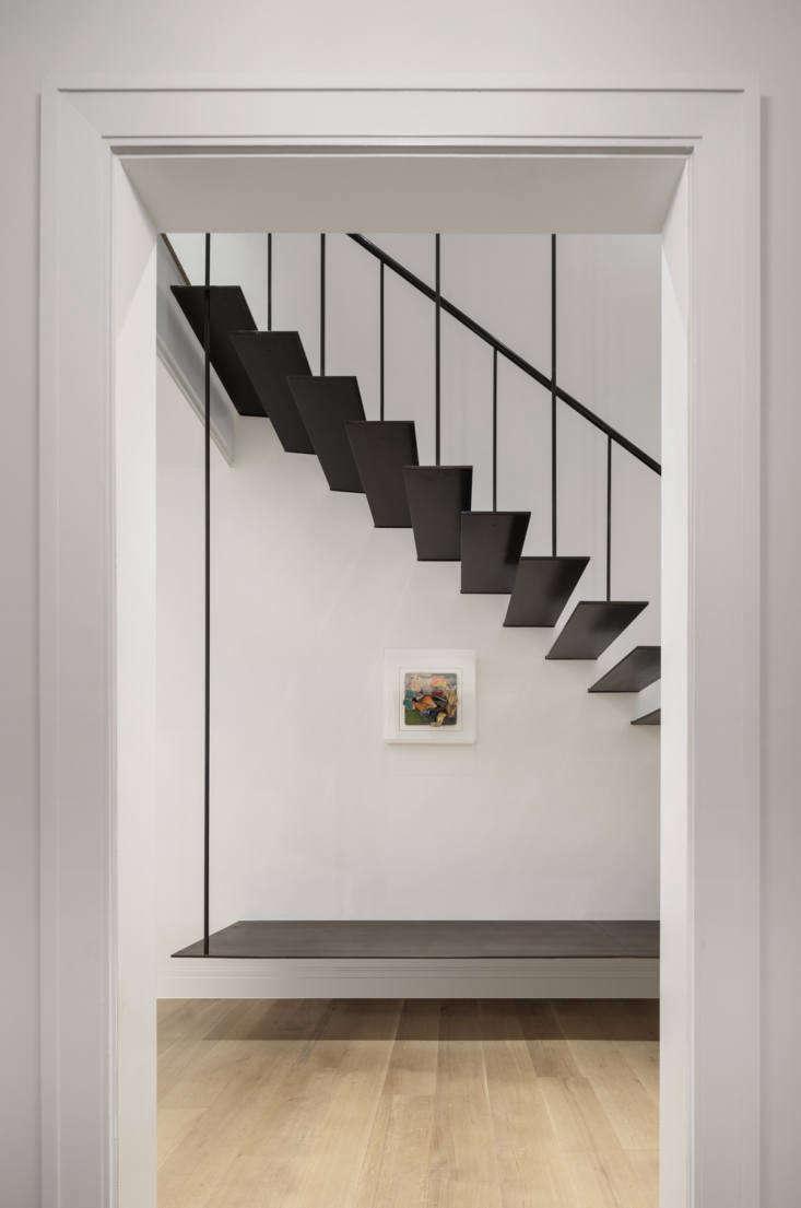 Sam Sullivan's Manhattan Brownstone by Devin Rose Stairs