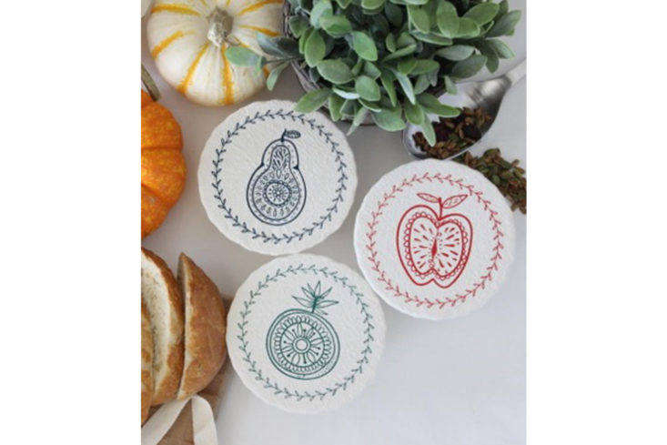 Edgy Moose Organic Cotton Bowl Covers