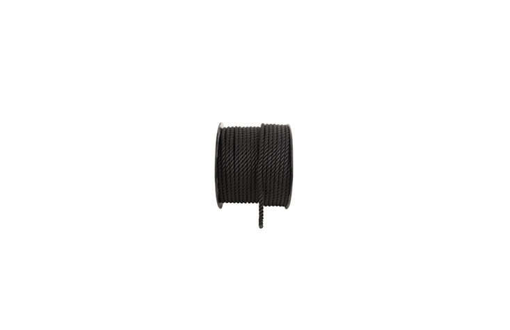 Everbilt Black Twisted Nylon Rope from The Home Depot