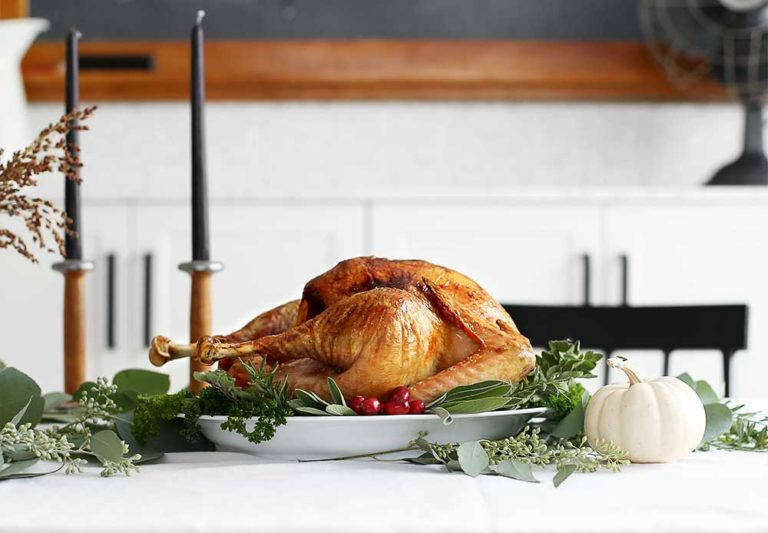 Faux Martha's Thanksgiving Turkey