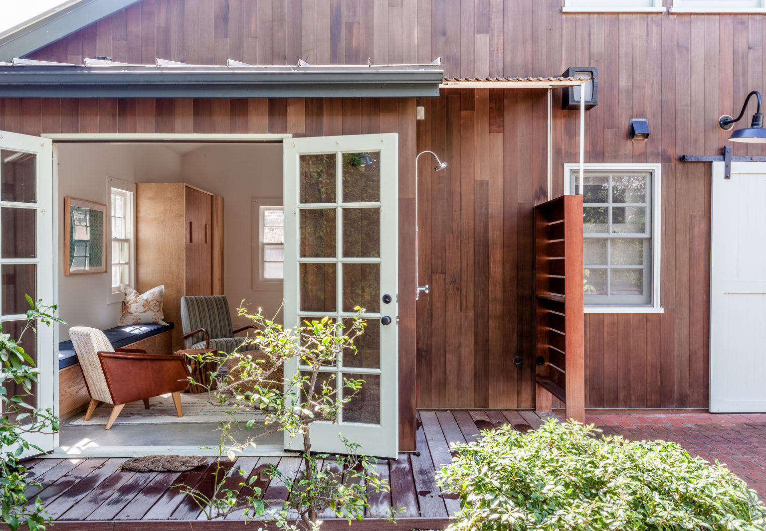 Small Space Living A Garage Conversion That Prioritizes Smart Storage