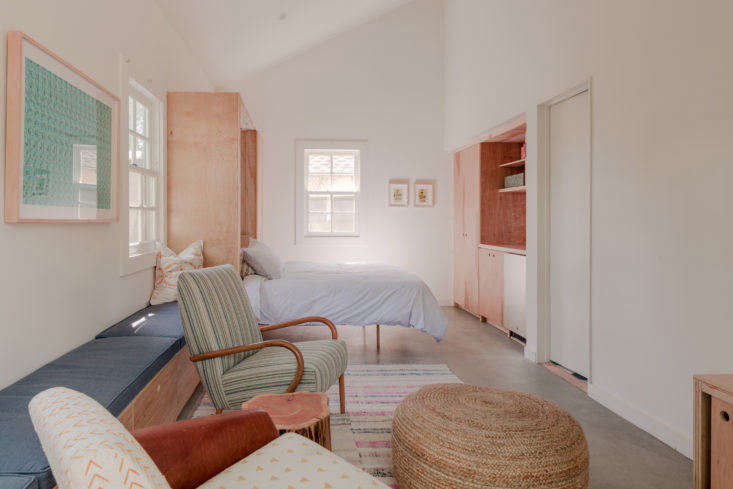 Christine Lennon Guest Barn Guest Room, Image by Stephen Paul and Paul Anderson