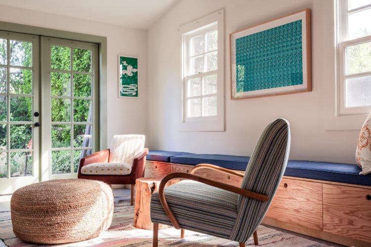 Christine Lennon Guest Barn Living Room, Image by Stephen Paul and Paul Anderson