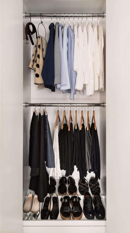 Clothing Closet Organized Home Book