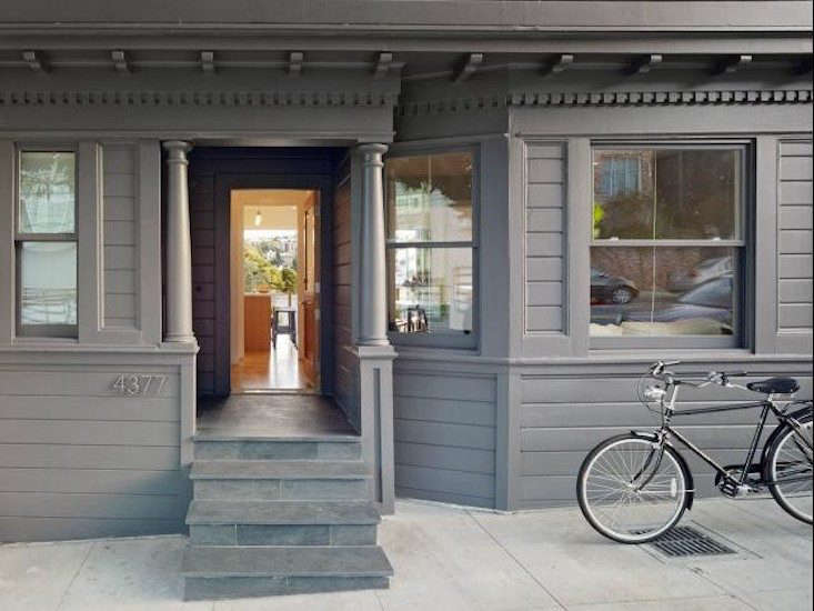 Check the paint on the exterior of your home for cracks and chips.Photograph byBruce DamonteviaMark Reilly Architecture, from 11 Ways to Add Curb Appeal for Under $100.