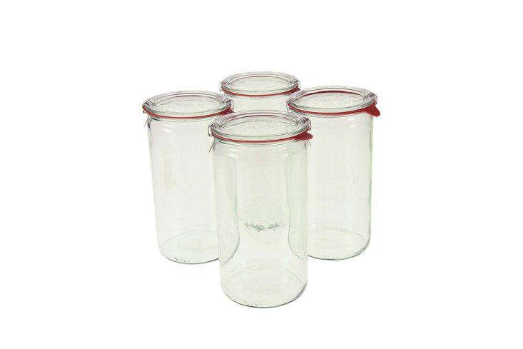 Weck 974 Cylindrical Jars on Amazon