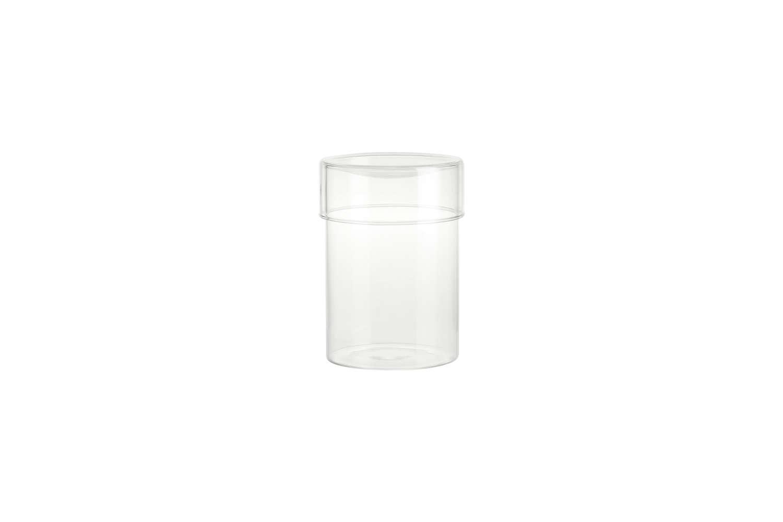CB2 Dawson Round Glass Containers