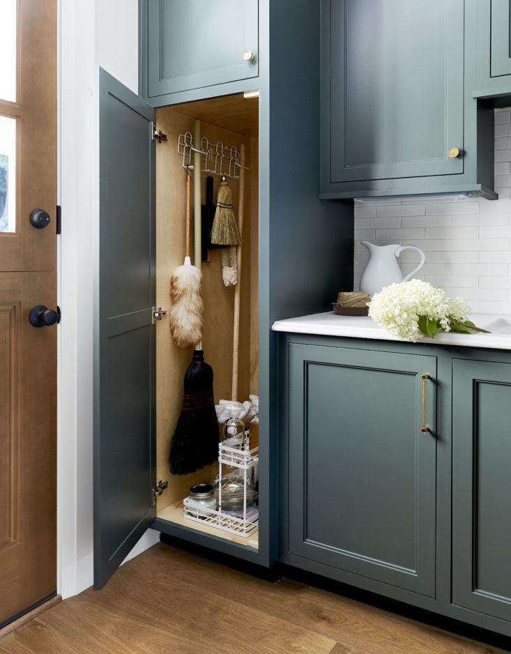 Emily Henderson Mudroom Utility Closet