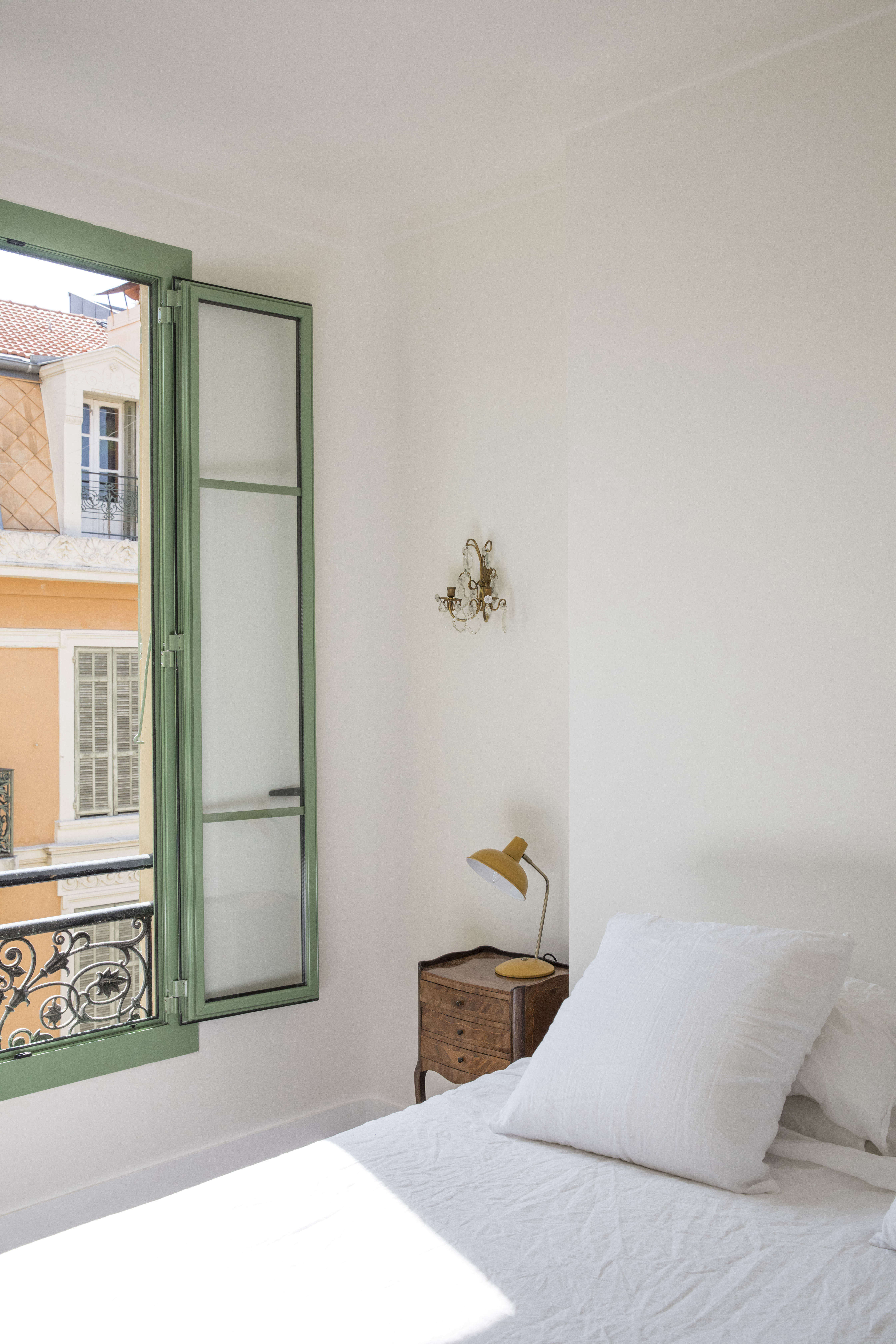 On our vacation list: this airy, charm-filled Airbnb in Nice.Photograph byHelen Cathcart, from The Six-Month Remodel: An Airy Flat in Nice Gets a New Lease on Life.