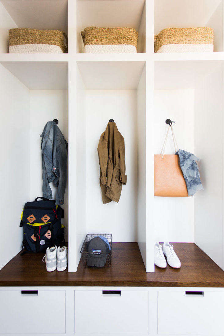 Studio McGee Mudroom Cubbies and Bench