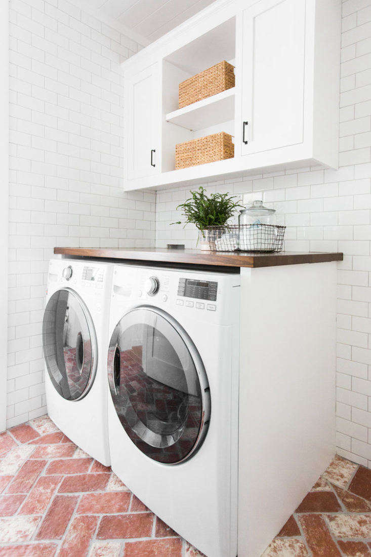 Studio McGee Mudroom Laundry Room