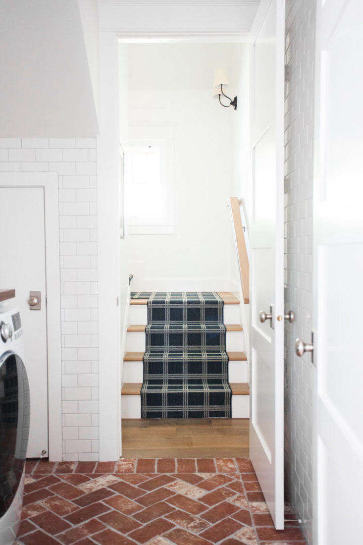 Studio McGee Mudroom Stairs