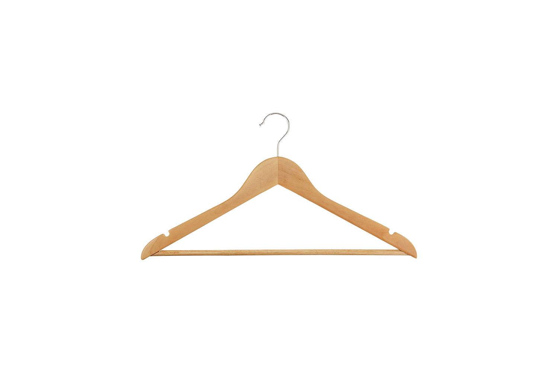 AmazonBasics Wood Suit Hangers