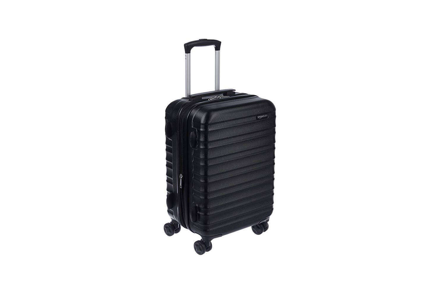Annie owns the Hardside Spinner Luggage and has great things to say about it (see her review inFor the Last-Minute Weekender: Sturdy, Inexpensive Luggage from a Surprising Source); from $49.99.