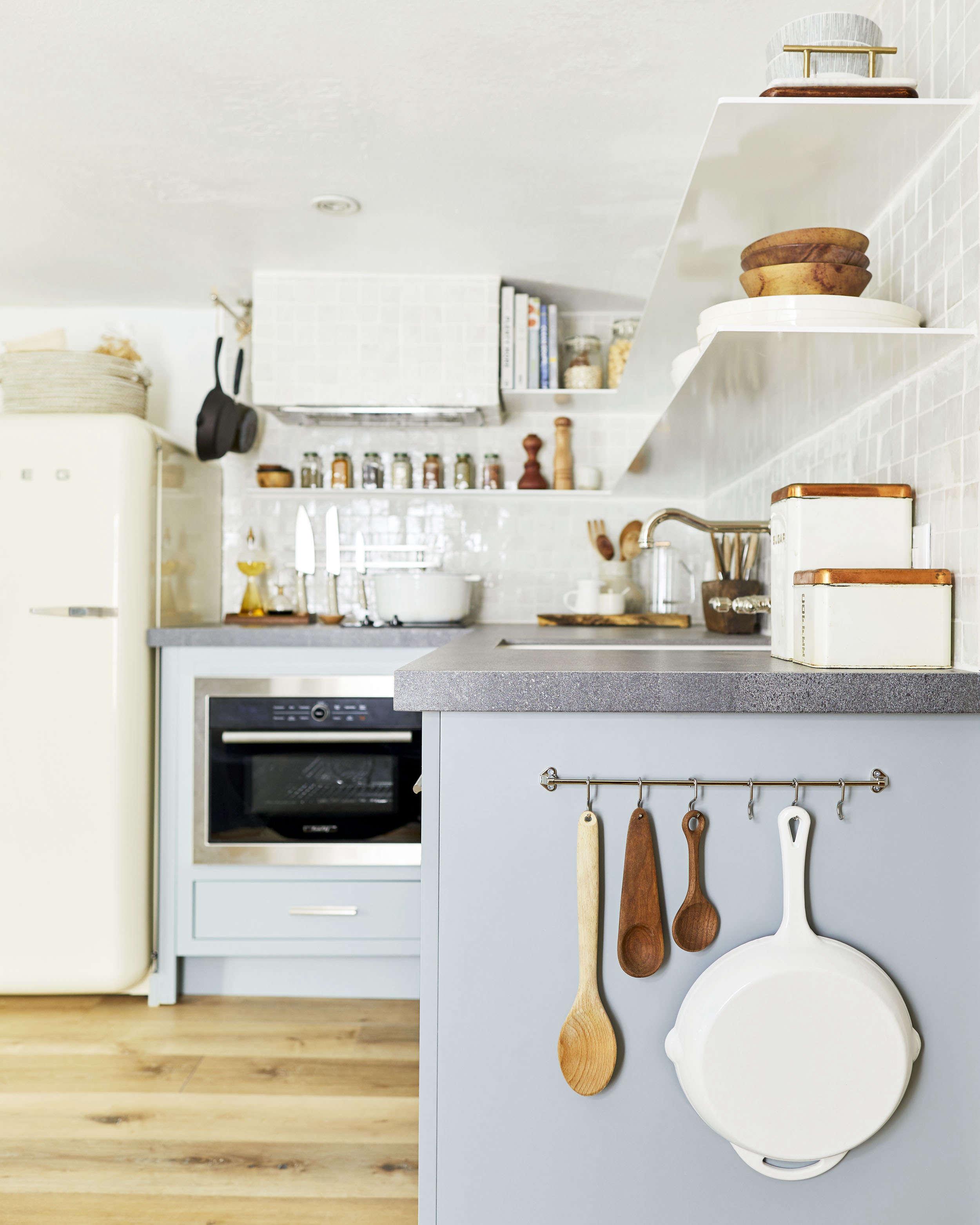 Emily Henderson Velinda Hellen Small Kitchenette Shelves