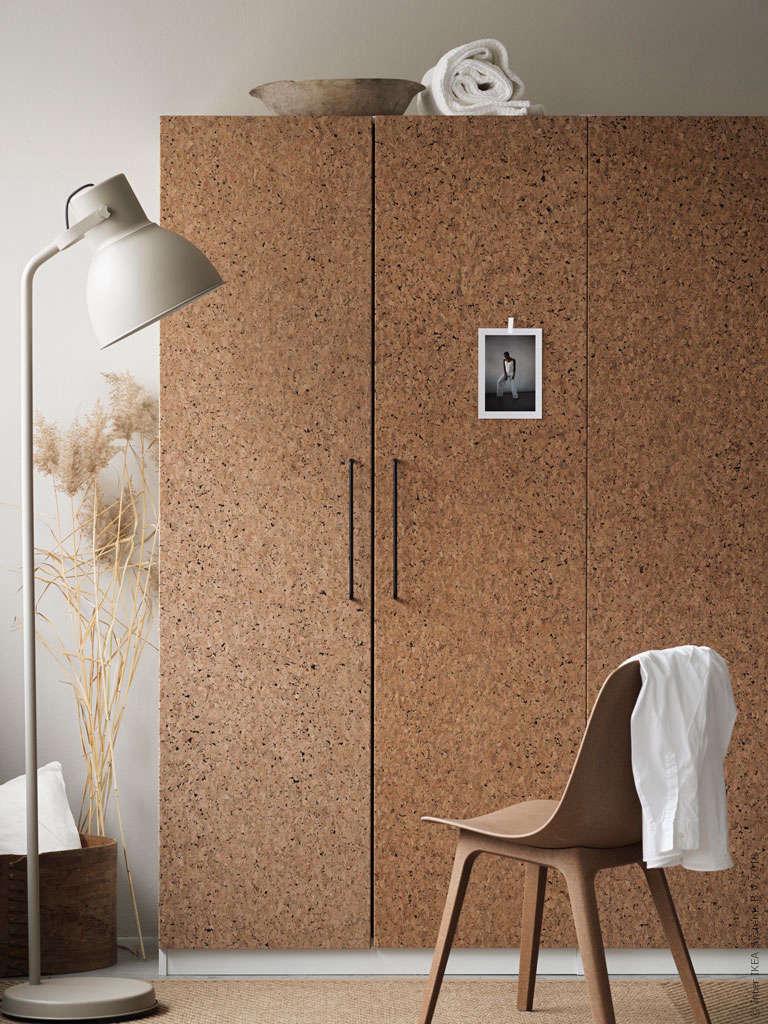 Ikea Kirkenes Cork Doors for Pax Hero Image